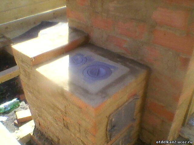 кирпичная печь трехоборотка